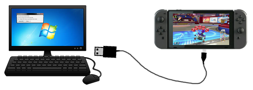 Play dumped Nintendo Switch ROMs on Switch